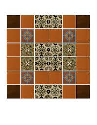 bathroom countertop mexican tile designs