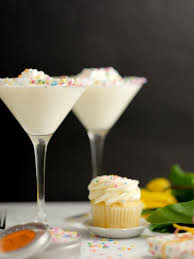 birthday cake martini recipe birthday cocktail rim sugar dell cove spice co