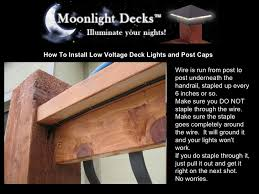 how to install low voltage deck lights and post caps 11 728 jpg cb u003d1233618324