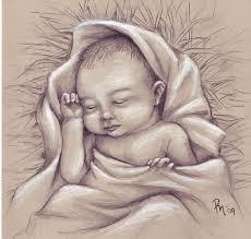 drawing of baby jesus baby jesus mine pinterest baby jesus