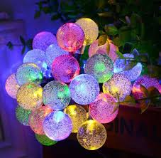 solar powered outdoor light bulbs aliexpress com buy bulbs solar string lights 30 led waterproof
