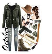 Zombie Hunter Costume Zombie Hunter Polyvore By Themightyfallen Pinterest
