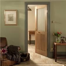 internal doors glass jeld wen oregon cottage oak un finished decorative glass internal