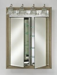 bathroom medicine cabinet with lights sanblasferry