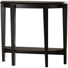 half moon console table with drawer andover mills blakeway half moon console table reviews wayfair ca