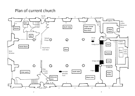 Floor Plan Of A Church by History