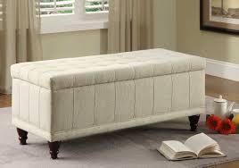 Storage Ottoman White by Storage Ottoman For Bedroom Descargas Mundiales Com