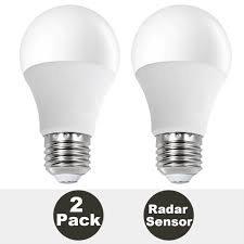 Porch Light Motion Sensor Adapter by 2 Pack Daylight Sunthin 7w Motion Sensor Bulb Microwave Led