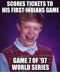 Game 7 Memes - bad luck brian meme imgflip