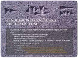language setting pattern used in society language chapter 5 language a system of symbolic communication
