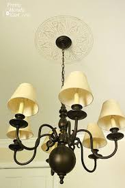 Chandelier Stencils Creating A Faux Ceiling Medallion With Cutting Edge Stencils