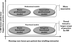 associations of patient safety outcomes with models of nursing