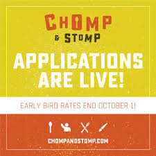 chomp and stomp chili cook off and bluegrass festival home