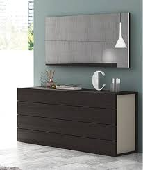 maia modern 5 pc bedroom set wenge and light grey j m furniture