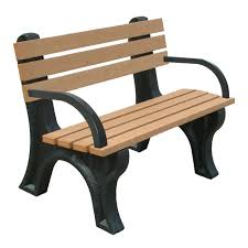 Recycled Plastic Furniture Jayhawk Plastics Commercial Recycled Plastic Central Park Bench