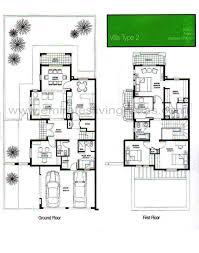 villa plan the springs floor plans emirates living