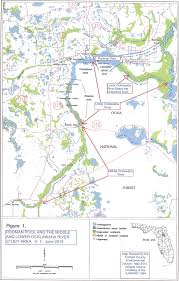 Large Map Of Florida by The Ocklawaha Ecosystem Florida Defenders Of The Environment