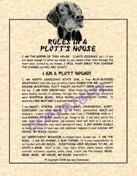 Family House Rules by Amazon Com Rules In A Plott Hound U0027s House Prints Posters U0026 Prints
