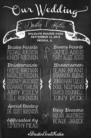 chalkboard wedding program template chalkboard wedding program so much cheaper than programs