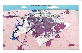 Charlotte Map The City Blog Charlotte In The U002780s
