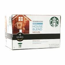 starbucks coffee starbucks house blend k cups decaff 10 count 6