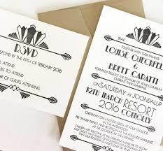deco wedding invitations deco wedding invitations coco press