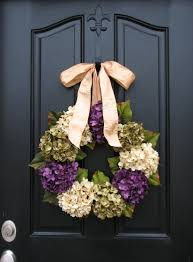 hydrangea wreath hydrangea wreath home decor with charm hydrangea