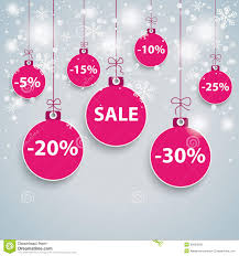 snow background purple baubles sale stock illustration image