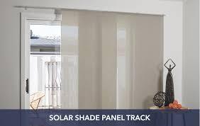 Panel Track For Patio Door Sliding Door Window Treatments
