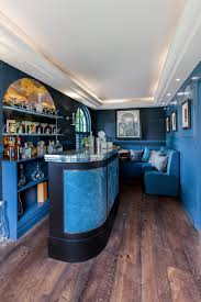 The Dining Room At The Berkeley Hotel The Mark Taylor Design Bespoke Blue Bar