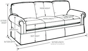 standard couch sizes standard couch size dimensions of couch cool standard couch size
