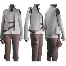 women star wars the last jedi rey cosplay costume holster