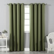 White Darkening Curtains Blackout Curtains You Ll Wayfair