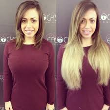 crosby hair extensions hagan shows real hair to ombre extensions makeover with