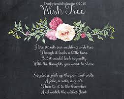 birthday wish tree wish tree poem wishing tree sign 8 x 10 no background for