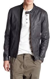 biker jacket lindbergh genuine leather biker jacket hautelook