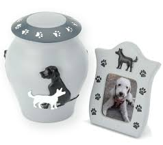 urn ashes shildon resin dog ashes urn photo frame
