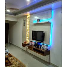 tv panel design home tv panel television cabinet ecovision architects pune id