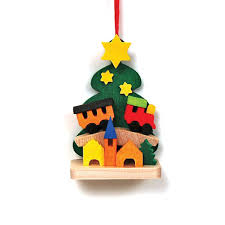tree ornaments from germany at the wooden wagon