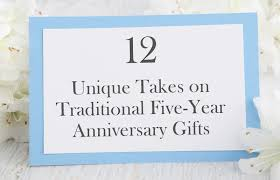 year anniversary gift 12 unique five year anniversary gifts bradford exchange