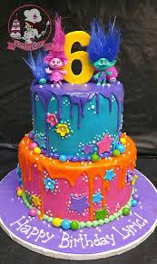 trolls birthday cake birthday theme pinterest birthday cakes