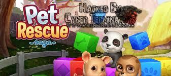 pet rescue saga apk pet rescue saga unlimited lives levels other hacks mod apk