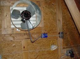 Attic Fan Wiring Installation Harry Electrician Gable Attic Fan