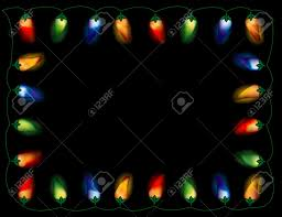 a string of chili pepper lights in colors on black
