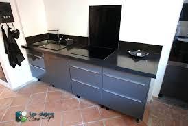 plan de travail cuisine beton beton cire sur carrelage plan de travail cuisine beton cire gris