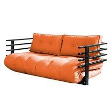 futon azur canape convertible orange maison design hosnya