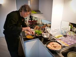 chef de cuisine à domicile un dîner avec hebert la assiette le