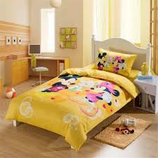 Mickey And Minnie Mouse Bedroom Set Yellow Mickey Minnie Mouse Bedding Mickey Mouse Bed Set Twin
