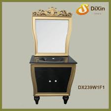 china antique bathroom vanity single sink supplier manufacturer