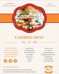 7 banquet menu templates psd vector eps ai illustrator